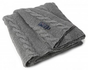 Lexington Authentic Knitted Throw Grey 130x170cm (1)