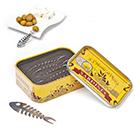 Sardine Snack Tin & Forks