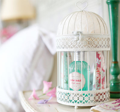 Vintage Birdcage Gift Set Now Half Price from Heathcote & Ivory