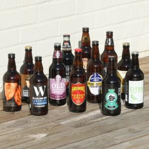 Case of Award Winning British Beer