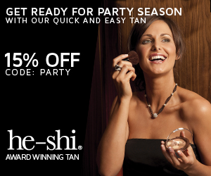 he-shi seasonal offers - 15% discount