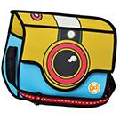 3D Cartoon Bag