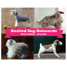 Knitted Dog Notecards