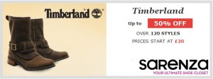 Timberland private sale Hero Image
