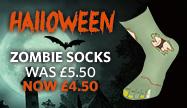 Halloween Zombie Socks