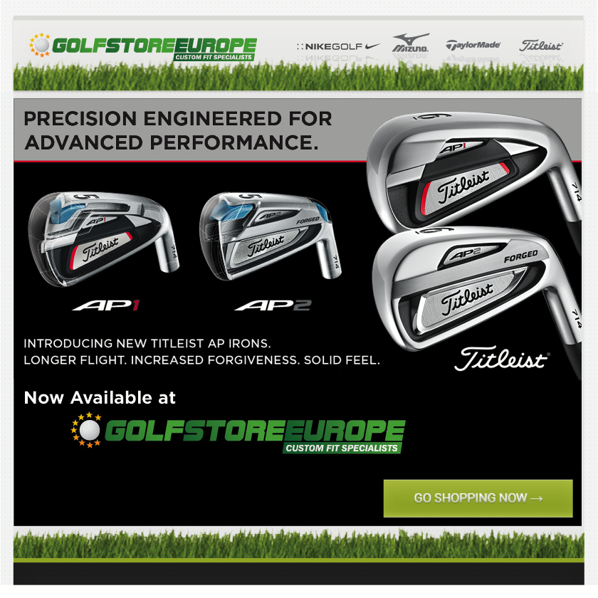 00681 - GSE Titleist 714 Irons Mailer Affiliate