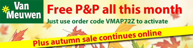 Free P&P for the month of November