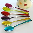 Jewel Coloured Teaspoons