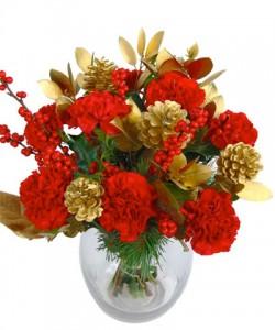 Christmas Glitter Bouquet, Fineflora