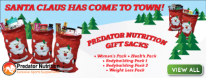 Predator Nutrition Christmas sacks