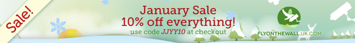 Fly on the wall January Sale 2014