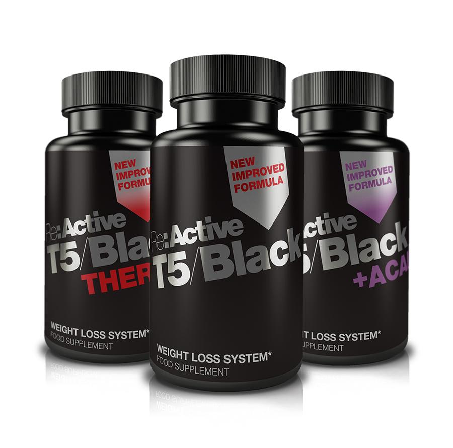 T5 black thermo fat burner
