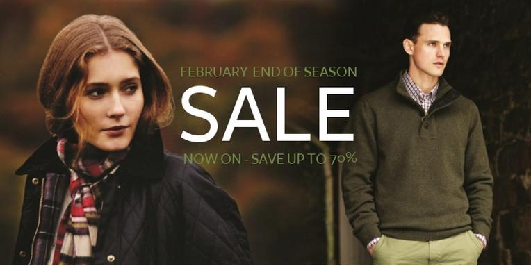 February End of Season Sale - Out of the City