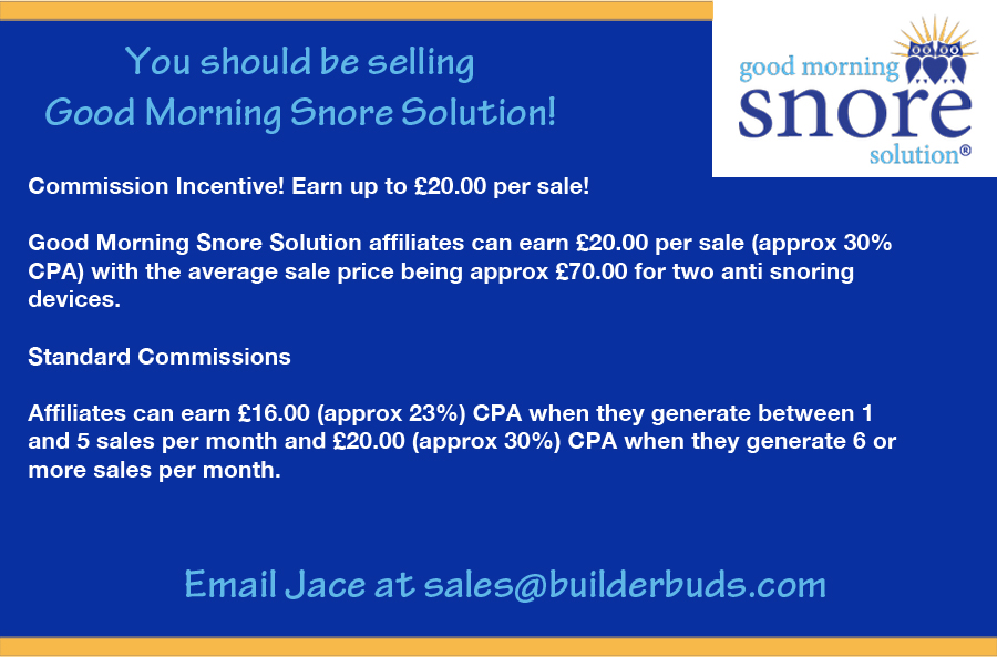 Good Morning Snore Solution - The HUB