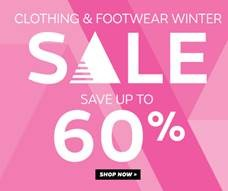 clothing and footwear sale