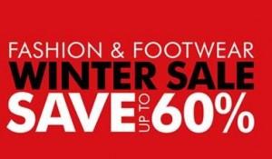 fashion and footwear sale