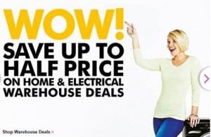 home and electrical sale
