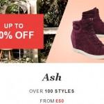 Ash shoes on sale
