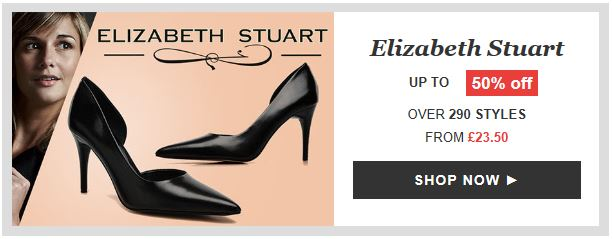 Elizabeth Stuart shoes on sale