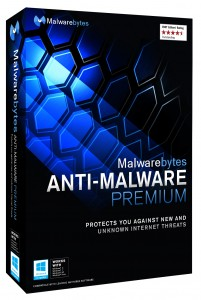 Malwarebytes AntiMalware Premium Right 3D