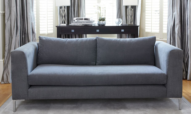 Shoreditch fabric sofa from Darlings Of Chelsea