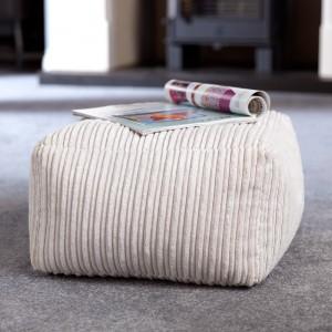 Footstool bean bag