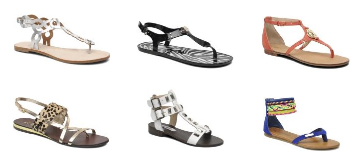 New collection sandals