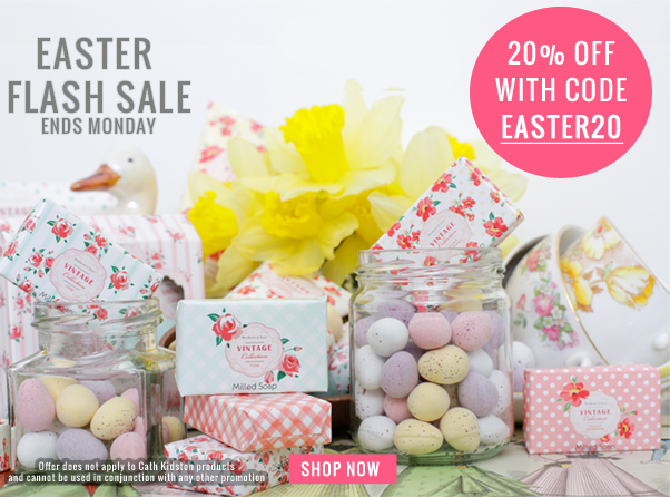 Easter Flash Sale at Heathcote & Ivory