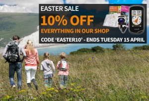 Ordnance Survey shop - Easter 10% off
