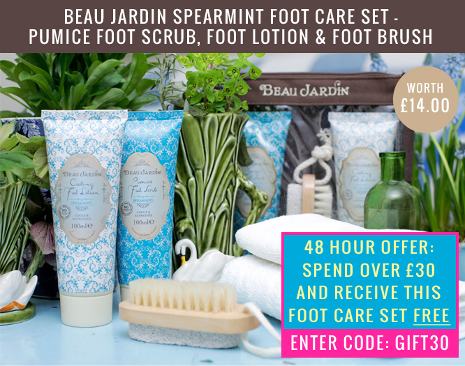Free foot care set