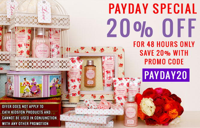 PAY DAY 20 Percent Off