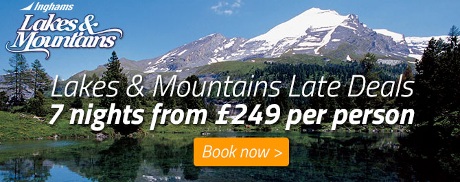 Inghams Lakes & Mountains Late Deals - 7 nights from £249 per person