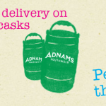 Free UK standard delivery on all Adnams mini cask twin-packs.