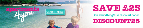 Image of £25 Off Bookings Banner