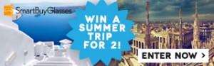 Enter now to Win a city break or beach break