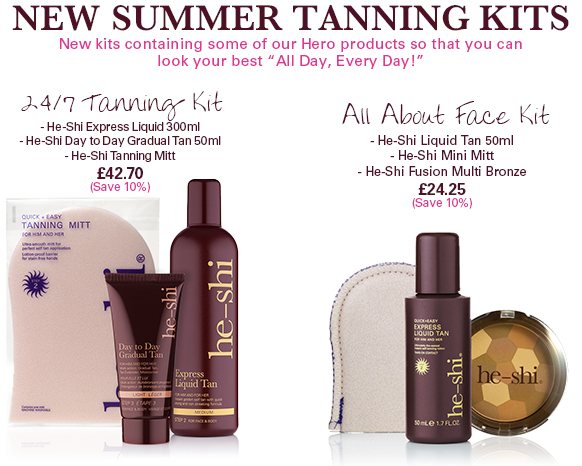 10% OFF New Tanning Kits