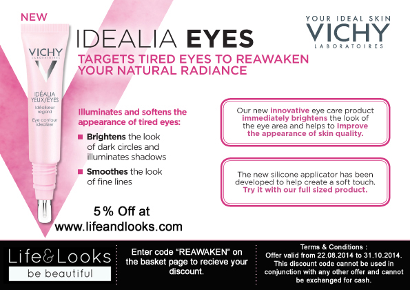 Vichy Idealia Eyes Discount Code