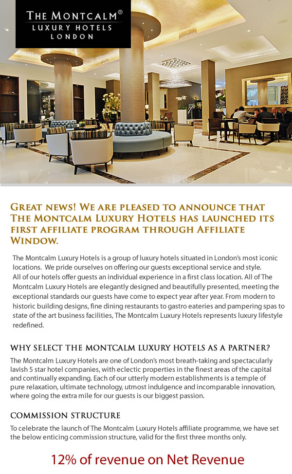 The Montcalm Affiliate Launch