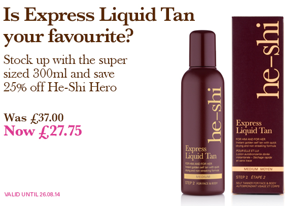 25% OFF Award Winning Tan