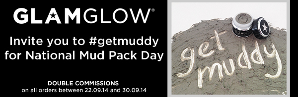 #getmuddy with GLAMGLOW