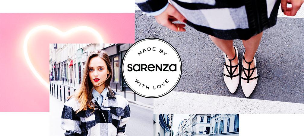 Sarenza shoe brand
