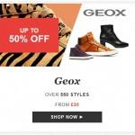 Geox sale at Sarenza