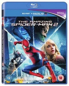 amazing spider-man 2 packsot blueray