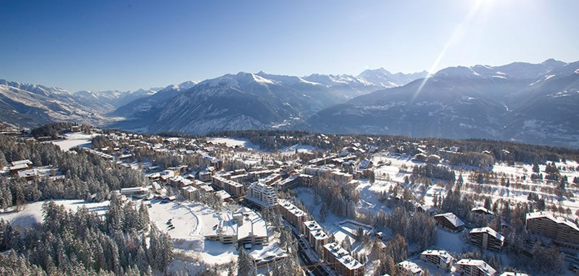 Ski at Crans Montana, Switzerland this winter