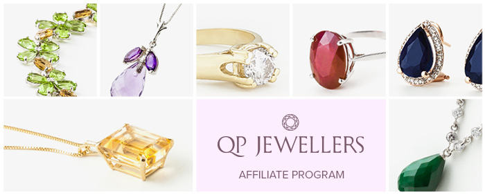 qp jewellers affiliate program banner