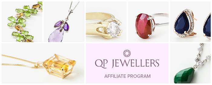 qp jewellers affiliate program banner