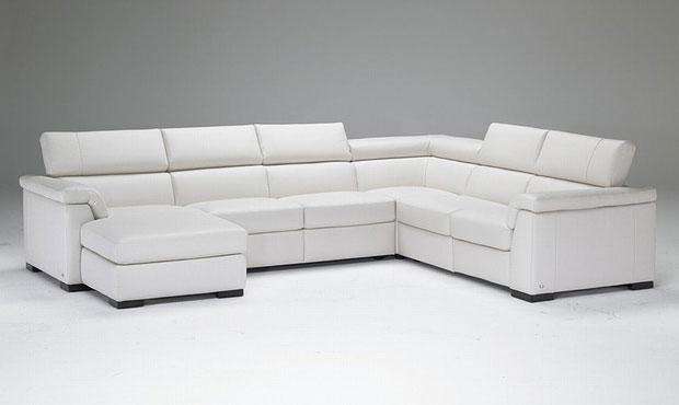 francesca Italian leather corner sofa range