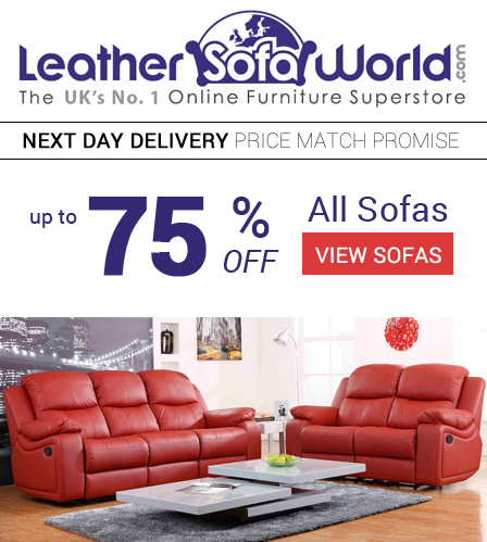 The Hub » Leather Sofa World - 10% Launch Commission