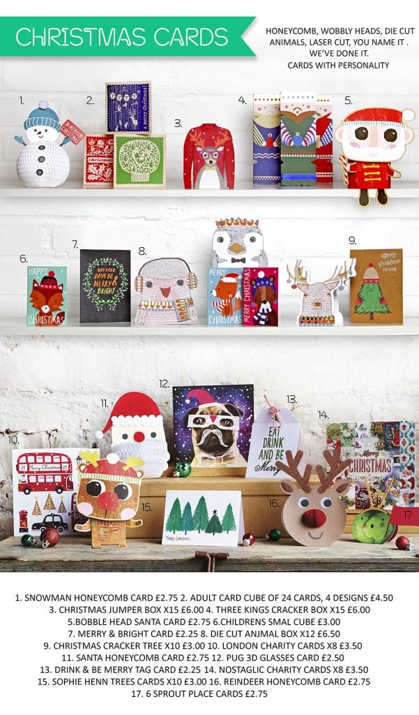 Paperchase Christmas Cards