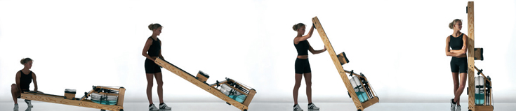 WaterRower Folding at Podium 4 Sport